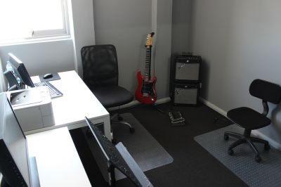 Guitar tuition room