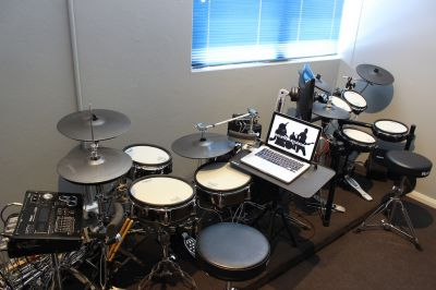 Drum tuition room