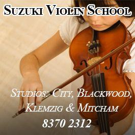 Suzuki Violin Lessons Adelaide