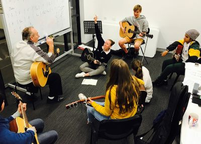 Teenage Guitar Group with Rick Blackledge