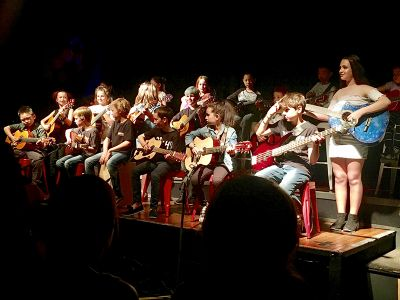 Guitar Group Performs at Annual Concert