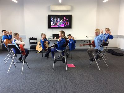 OLA Parish Centre-  Guitar Group Session