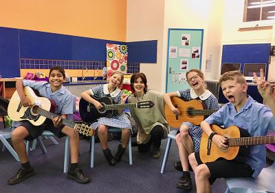 In-School Guitar Group