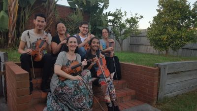 Adult Students' Violin Ensemble