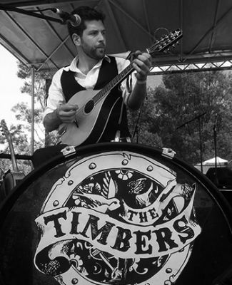 Ben Roberts - Guitarist and Vocalist for the award-winning band 'The Timbers'
