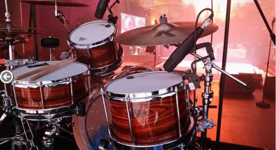 My new Sleishman ebony veneer kit at Palladium, Crown