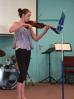 Violin lessons at Amy's Music Studio