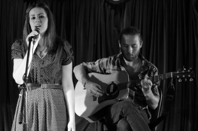 Open Mic Night: The talented Katie O'Neill accompanied by Stephen Howard